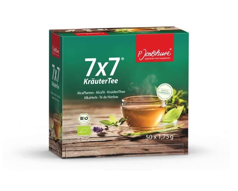 P. Jentschura 7x7 Kruidenthee 50 Zakjes