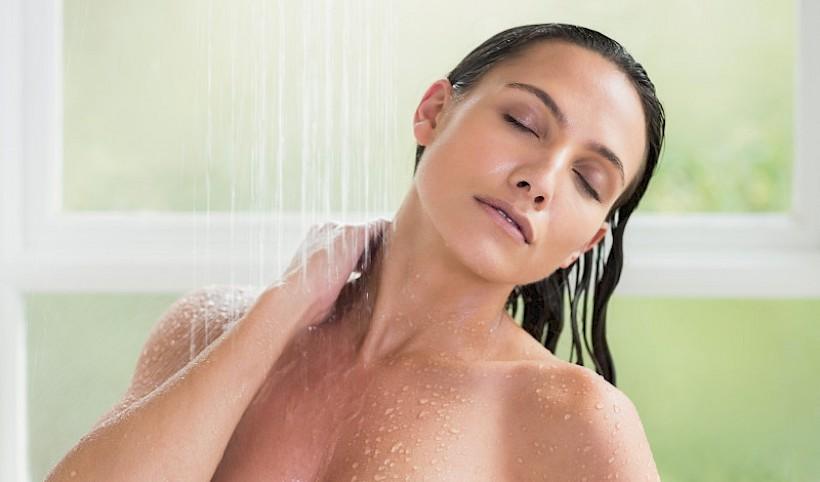 Douchen met BasenSchauer
